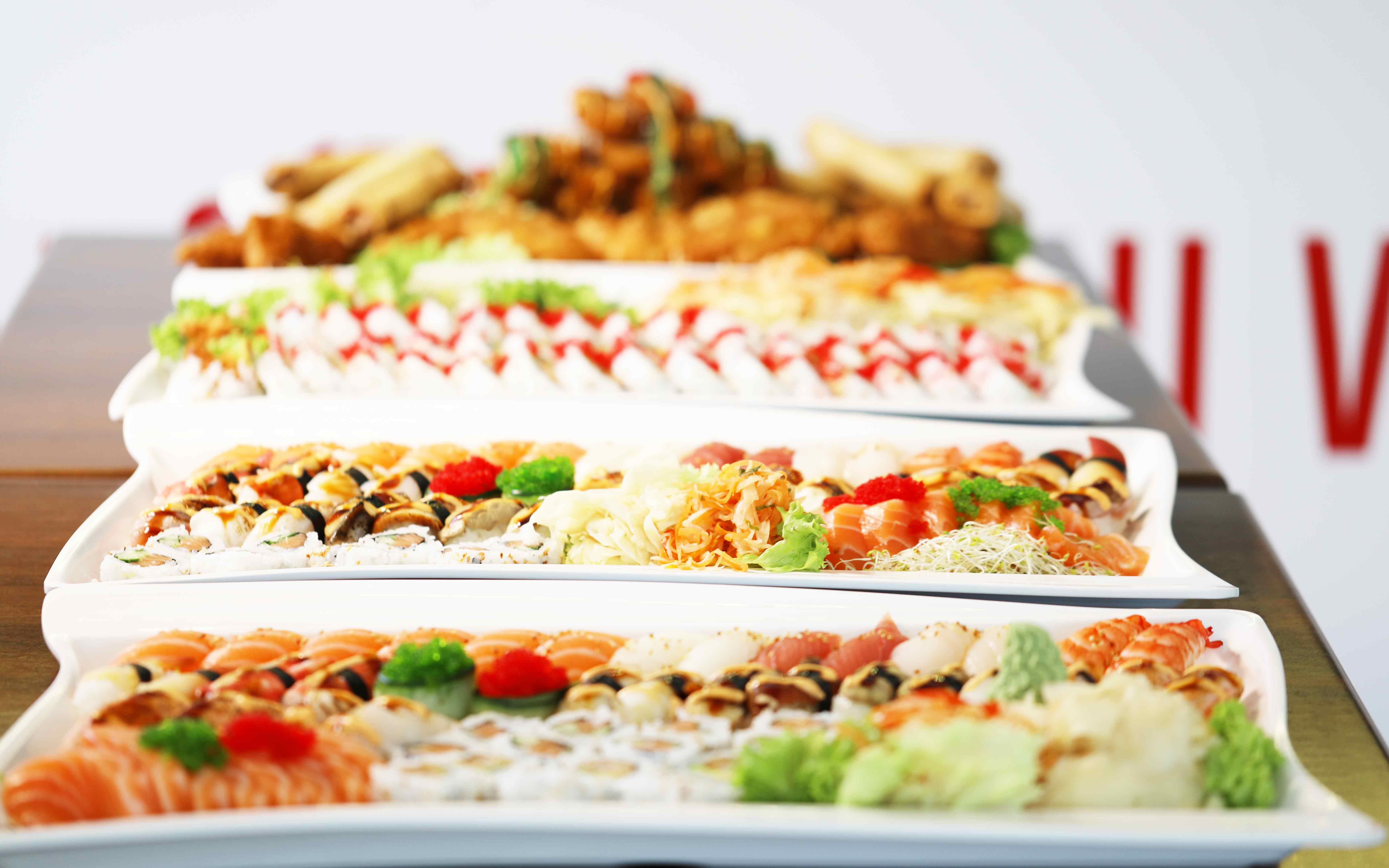 Sushi meny