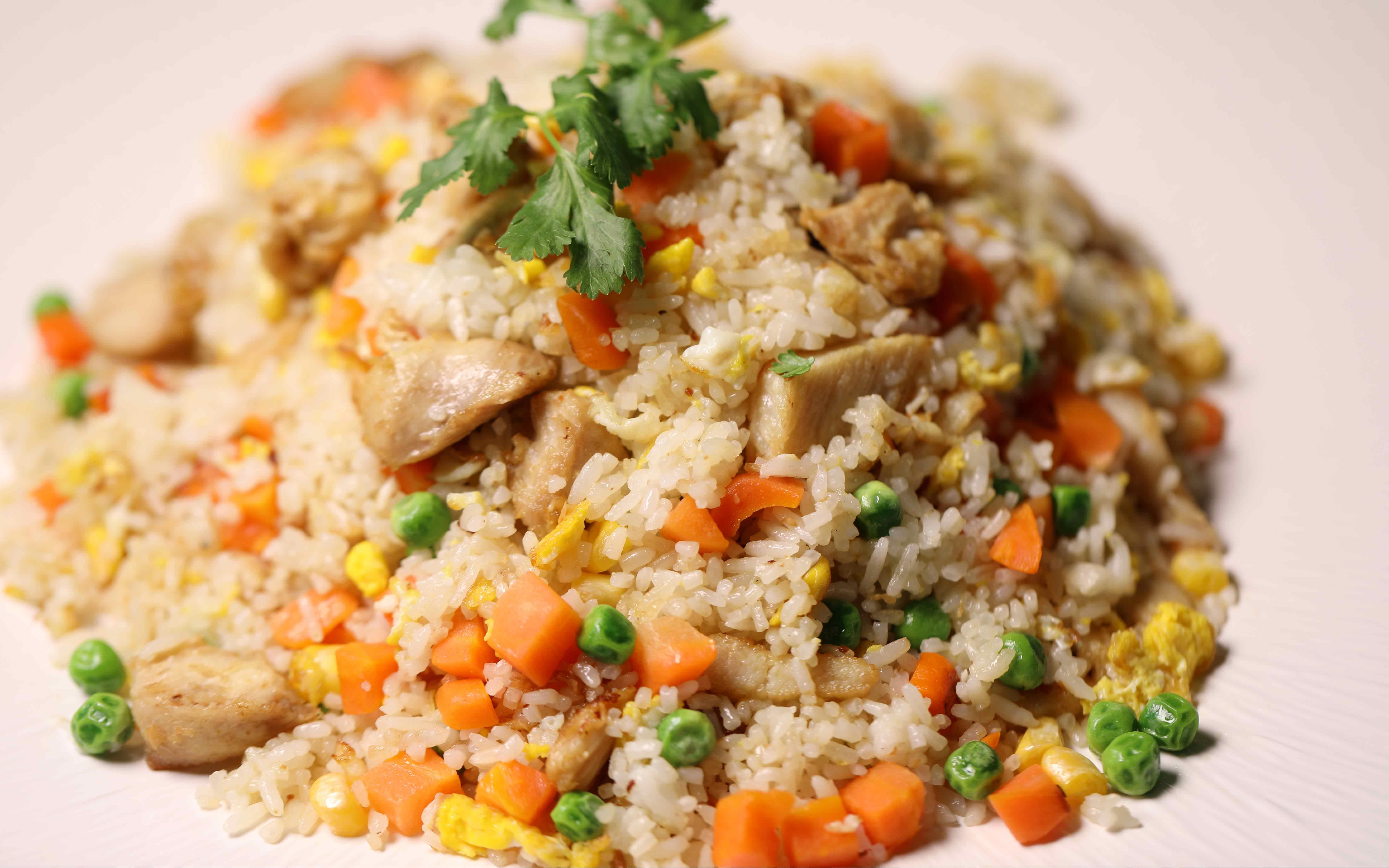 Stekt ris pris 89